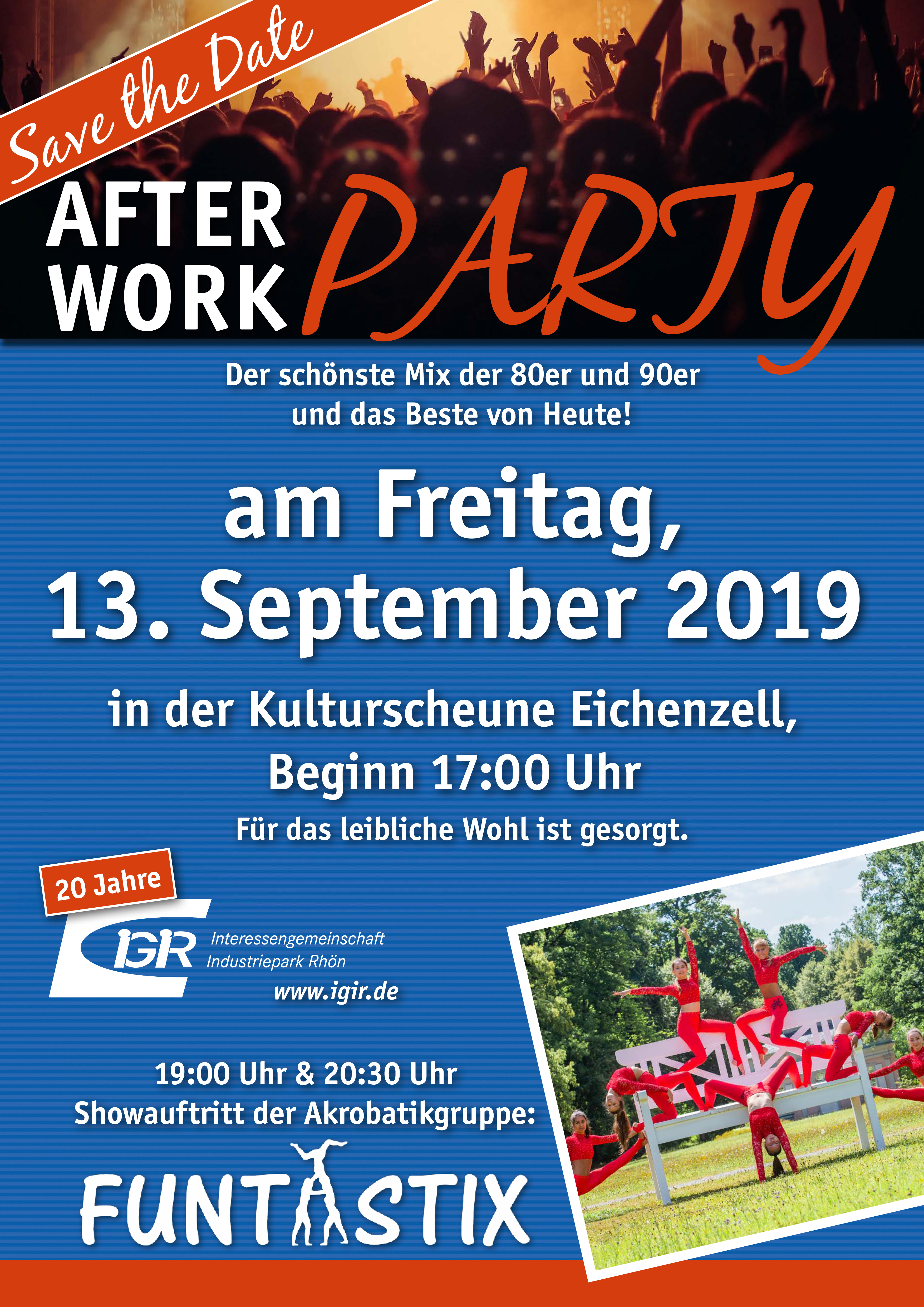 After Work Party 2019-09-13